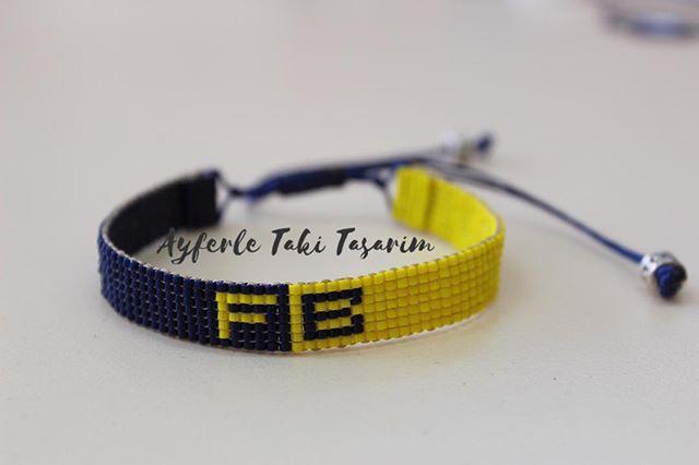 @drkhlme #sarıkanarya #fenerbahce #fener #fenerbahçe #miyuki #miyukibileklik #sarılacivert #sarılacivertaşk #miyukidelica #taki #ayferletakitasarim #handmade #handmadejewelry #jewellerydesign #