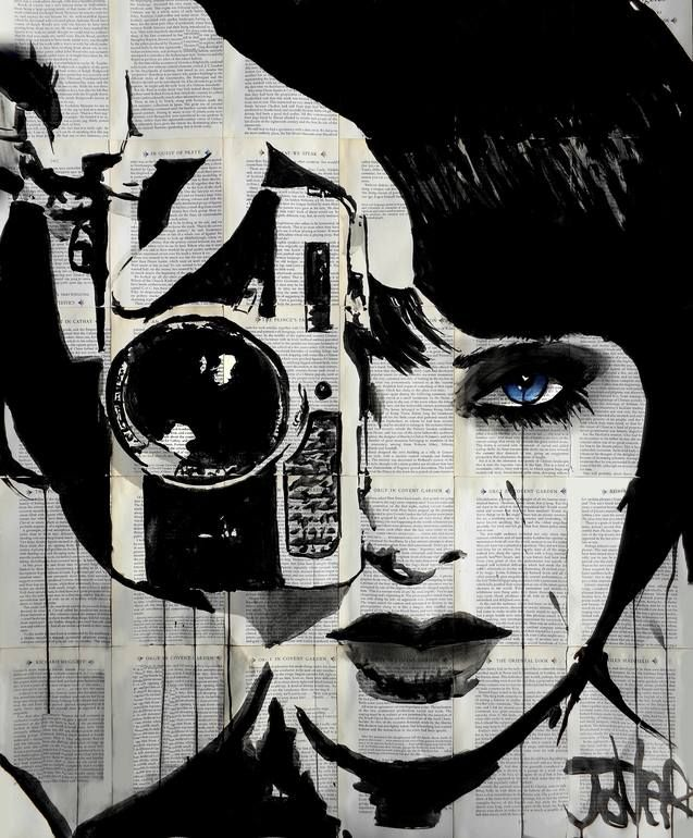 "Saatchi Art Artist: Loui Jover; Ink 2014 Drawing ""click"""