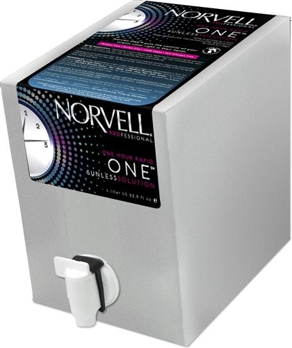Norvell One Hour Rapid One Sunless Spray Tan Solution, 34 oz