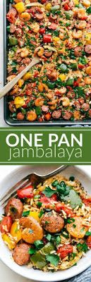 One Pan Jambalaya - Easy Food