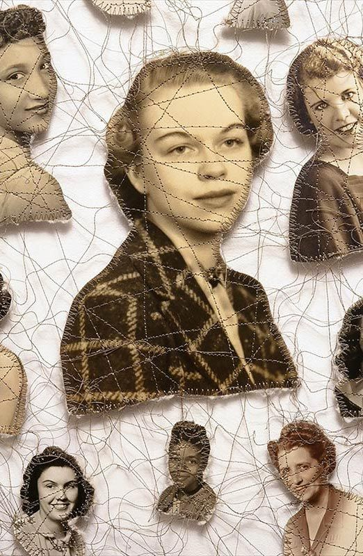 Lisa Kokin - sewn photos -