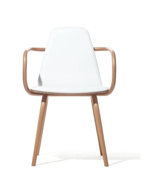 Ξύλινη πολυθρόνα μοναδικού σχεδιασμού Βιενέζικου στυλ. Είναι κατασκευασμένη από 100% μασίφ ξύλο οξιάς.από τον designer THOMAS FEICHTNER.  link: http://amass.gr/πολυθρόνες-6008.html website: www.amass.gr  #wood #sofa #home #kitchen #references #chear #armchair #decor #design #karekles #trapzia