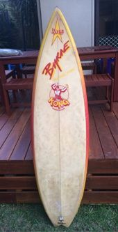 Gary Elkerton KONG model Byrne channel bottom surfboard - Ebay