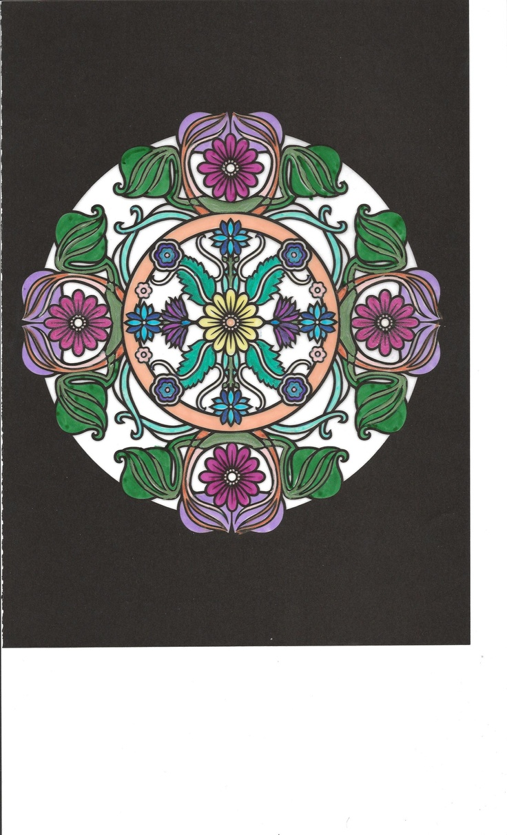 The Language Of Flowers Coloring Book Dover Nature 1513152