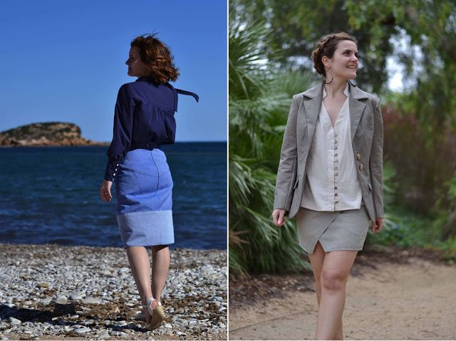 New patterns: Reina shirt, Safor skirt and Saler jacket! |pauline alice - Sewing patterns, tutorials, handmade clothing & inspiration