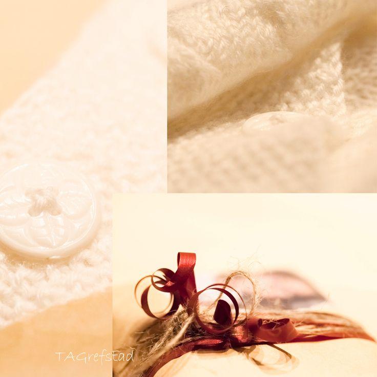 En strikket hals til en liten frøken <3