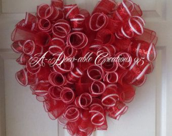 Halloween Spiral Deco Mesh Wreath by ADoorableCreations05 on Etsy
