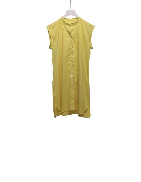Camicia in popeline elast. Yellow