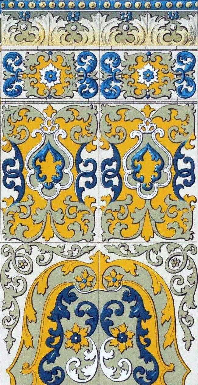 Old Russian patterns. #art #Russian #patterns