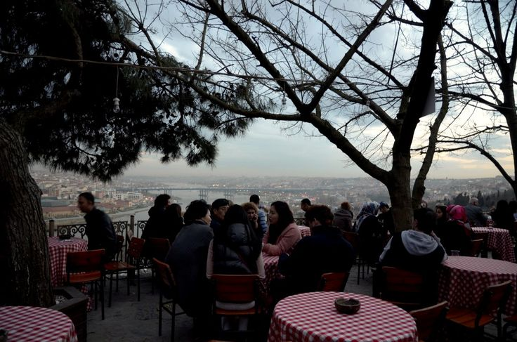 Pierre-Loti Café in Eyüp, Istanbul