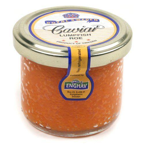 Great Red Lumpfish Caviar (3.5 ounce), ,