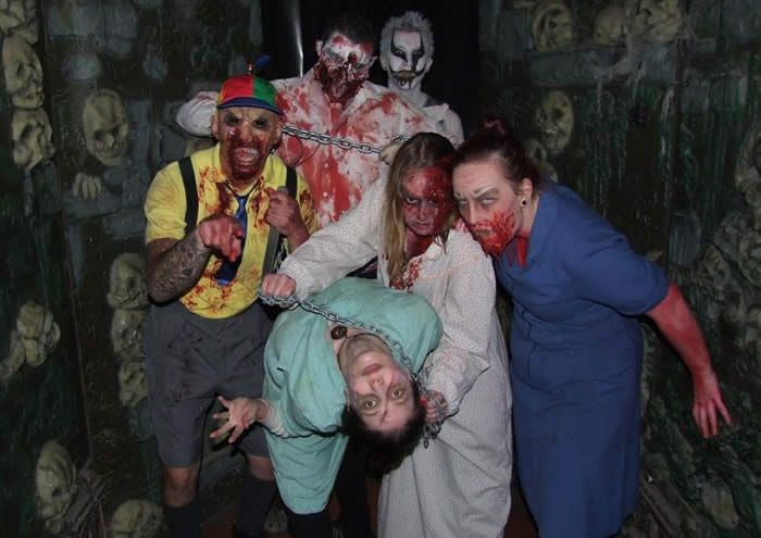 Spookers Haunted Attraction + Dinner.  Auckland.  One for the husband.