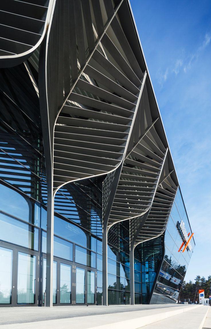 Imagem 6 de 6 da galeria de Zaha Hadid Architects inicia a construção do NürnbergMesse Hall 3C. NürnbergMesse Hall 3A. Imagem © Heiko Stahl