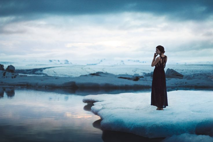 Once upon a freezing time Whitney Justesen  stood bare-footed out on a free-floating iceberg at Jokulsarlon Glacial Lagoon at midnight and she didn't die.  See her incredible photo here:  flic.kr/p/oQtREd  ___________________________ Website | Facebook Page | Tumblr | Instagram