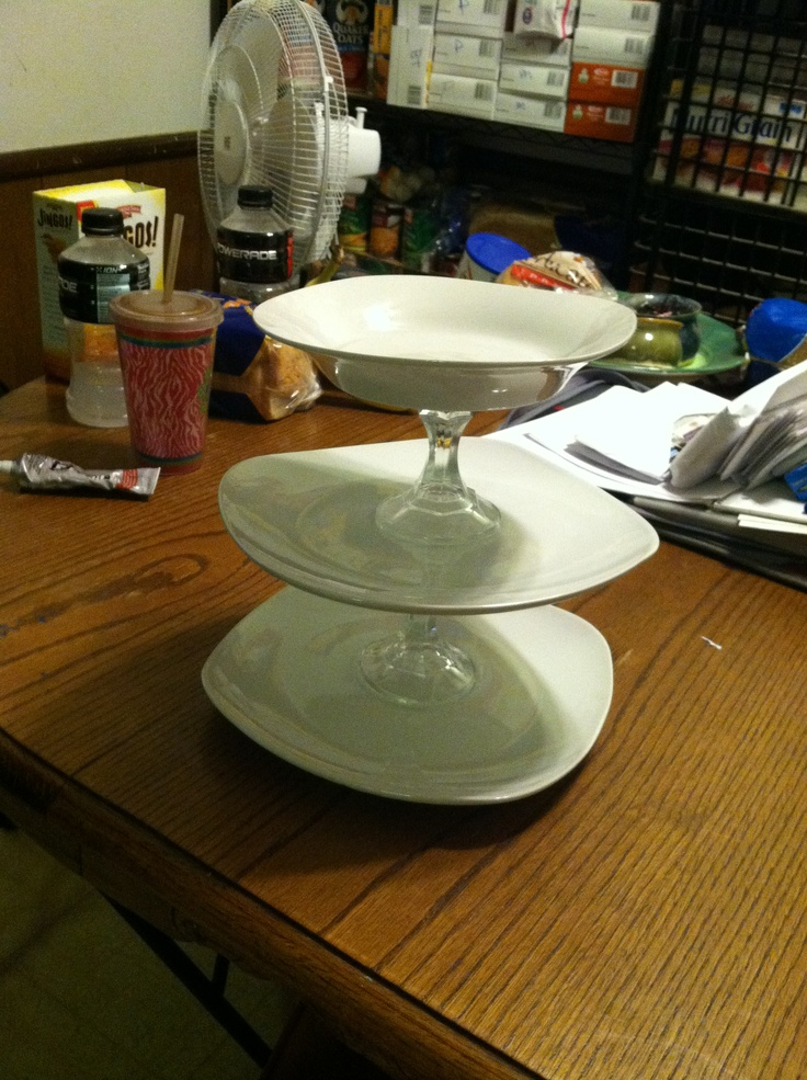 plate  bowl  candle holder  e6000 all from dollar tree  5 craft