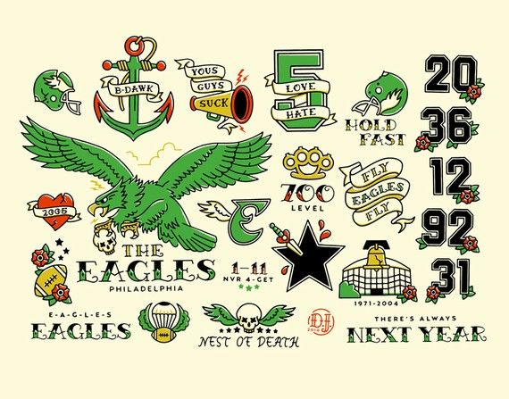 philadelphia eagles flash random pinterest eagle tattoos philadelphia eagles and tattoos. Black Bedroom Furniture Sets. Home Design Ideas