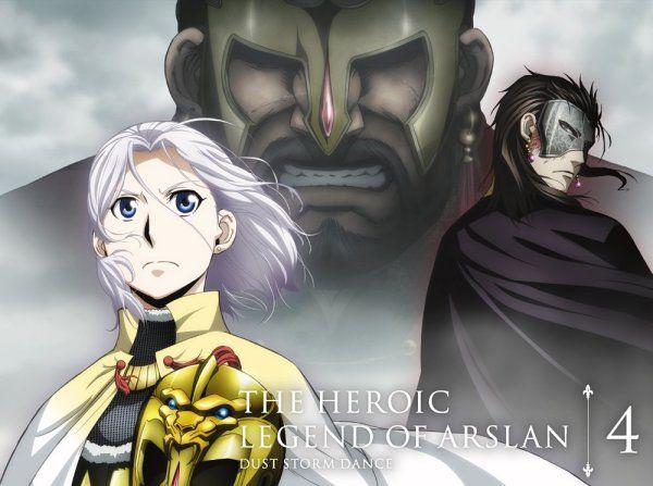 'The Heroic Legend of Arslan – Dust Storm Dance' Anime DVD/BD Dub Trailer Debuts
