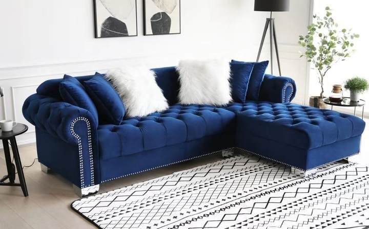 Pin On House Stuff #royal #blue #sectional #living #room
