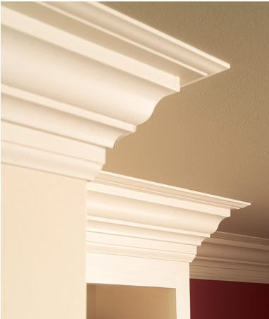 Adding Moldings To Your Kitchen Cabinets
