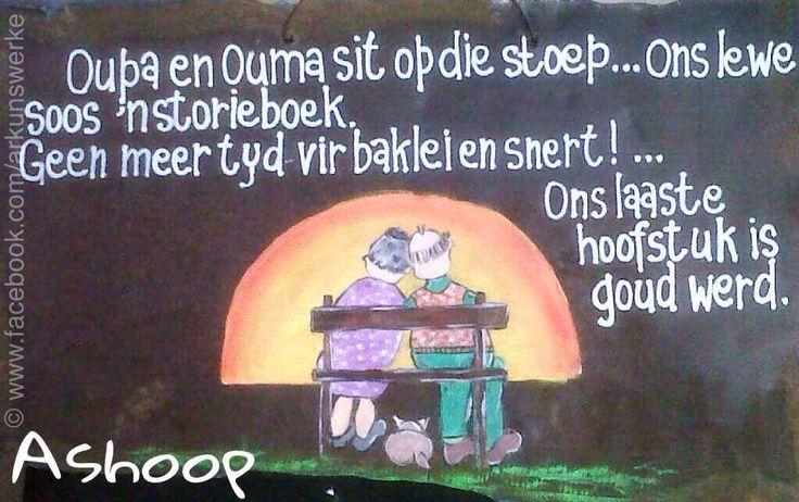 Afrikaans - Ouma en Oupa ....