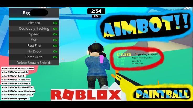 Roblox Paintball aimbot script Free!! Roblox
