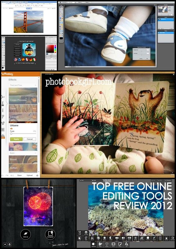 Top Free Online Photo Editing Tools 2012