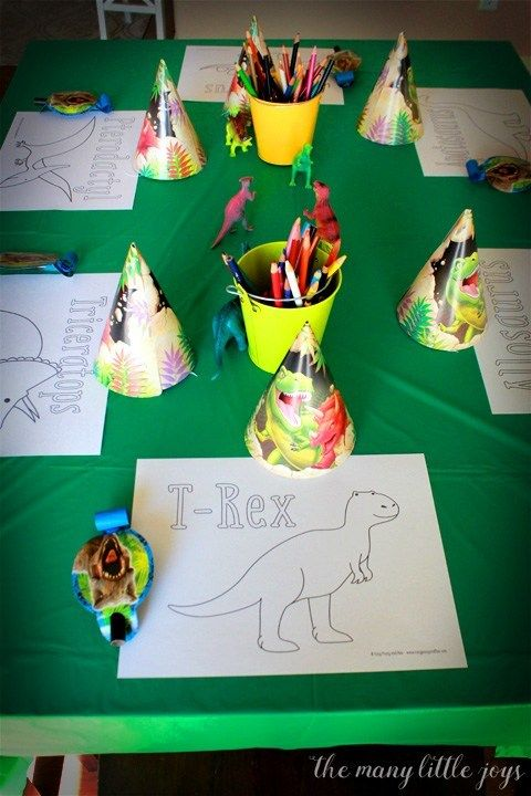 Dinosaur birthday party: a real mom's guide