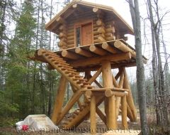 I think I want this for a home. For sure add some railings on those stairs and around that porch.