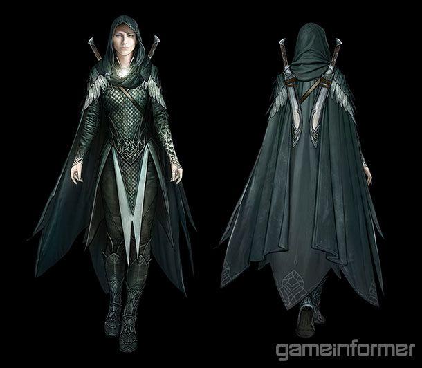 The Blade Of Galadriel: Meet Shadow Of War's Elven Assassin - Features - www.GameInformer.com