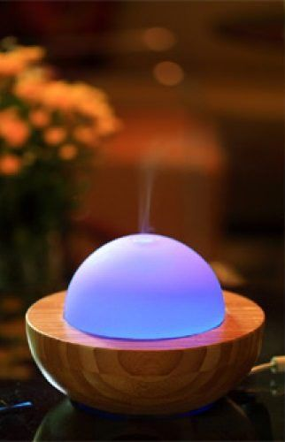 Essentials in a Box Bambo 5 in 1 Diffuser Humidifier Ioniser Air Purifier Lamp