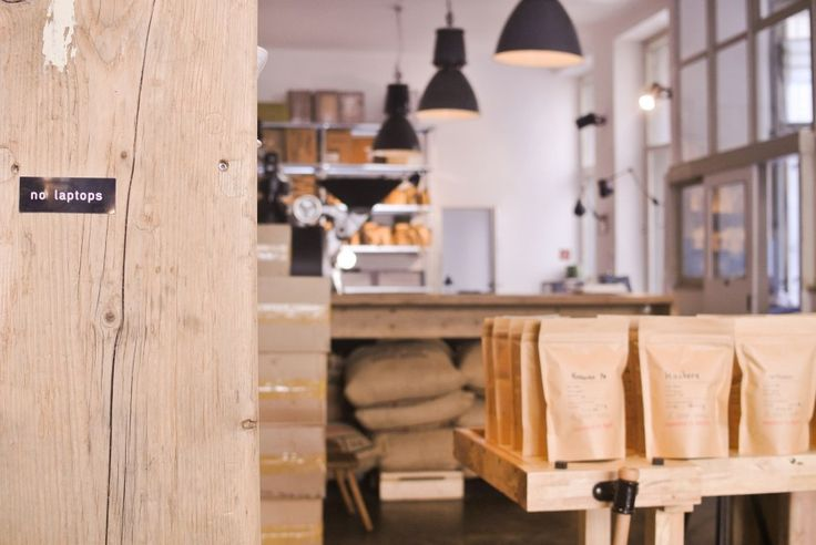 The Barn [Berlin] is a treat for every fan of the brewing process, as their retail design highlights their process. #RetailDesign #Berlin #Coffee