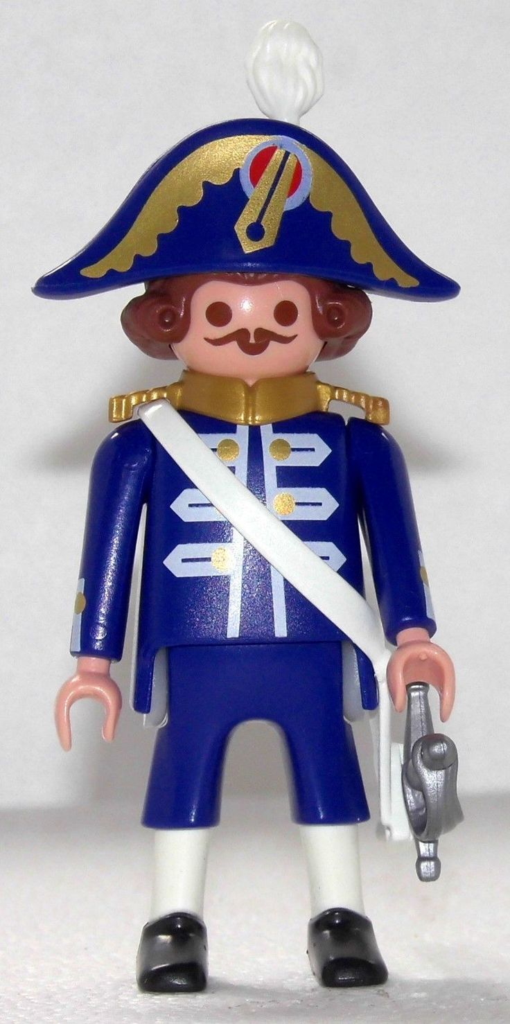ADMIRAL OFFIZIER GENERAL Playmobil zu Marine 3740 Napoleon Franzosen Garde 1502 | eBay