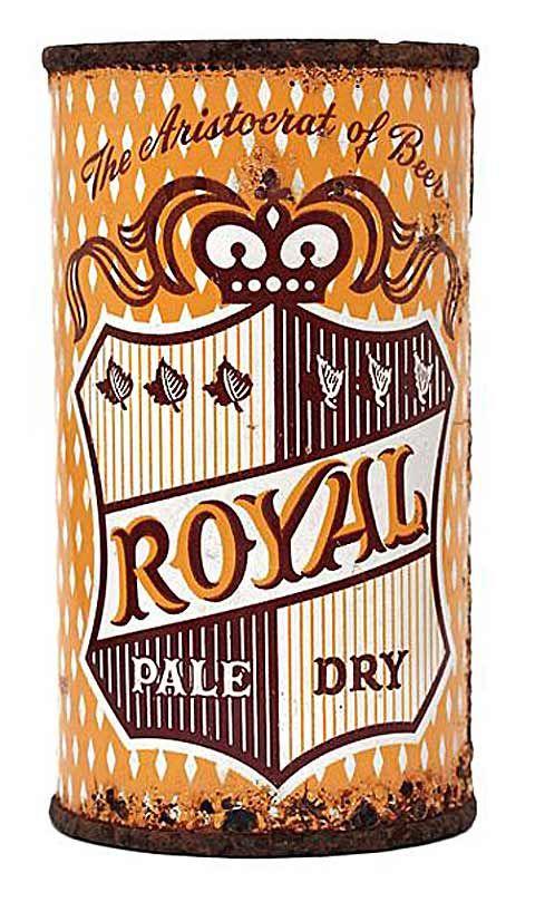 Royal Pale Ale flat top can.