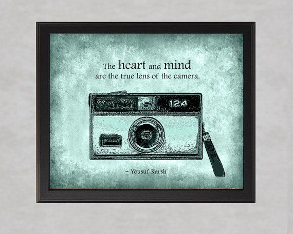 What's behind the lens... (print by quotograph on Etsy, 25.00)
