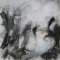 By Sandrine Merrien  Acrylic and mixed media  30 x 30 cm