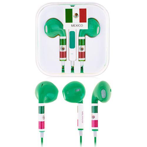 Fifa Mexico Earphones #mexico #worldcup #earphones #fifa #smartphone $5.53