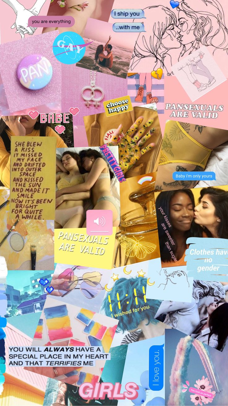Collage Wallpaper Pansexual collage wallpaper iPhone X Wallpaper 378935756145077998 3