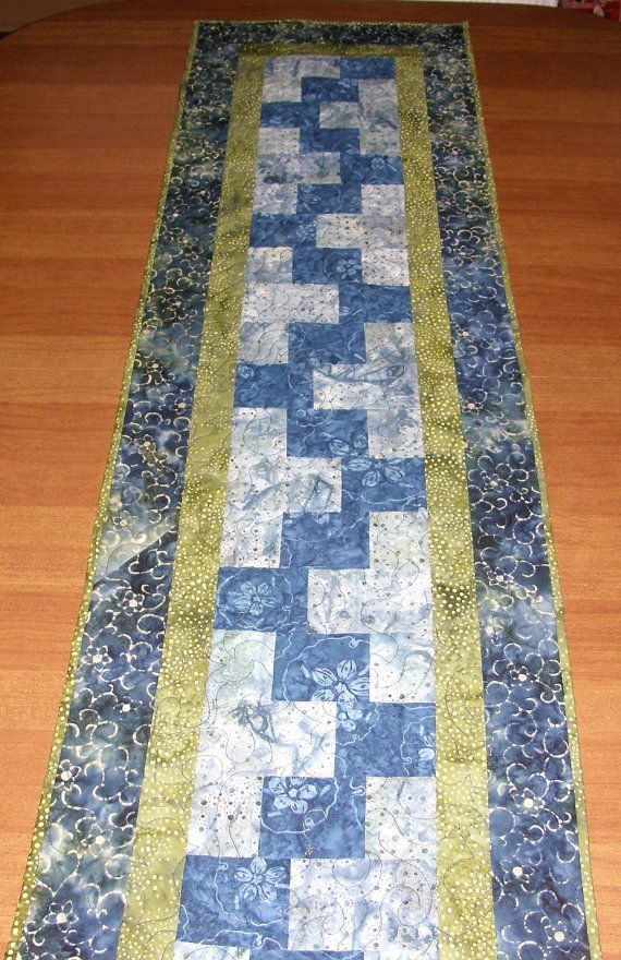 1000 ideas about dining table runners on pinterest for Modern table runner