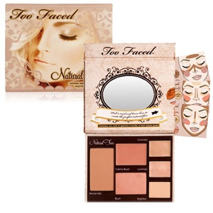Too Faced Natural Radiance Face Palette         #beautybaywishlist