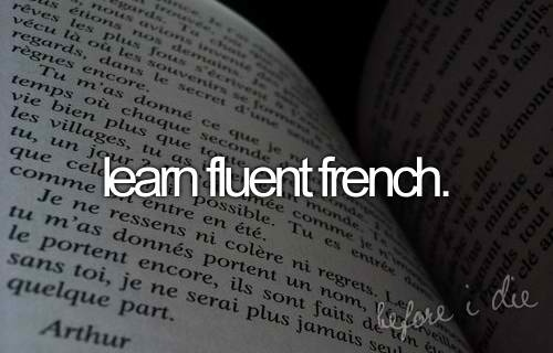 How to become more fluent in French?