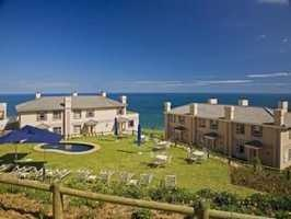 The Gardens and pool area at the Pinnacle Point Beach and Golf Resort…