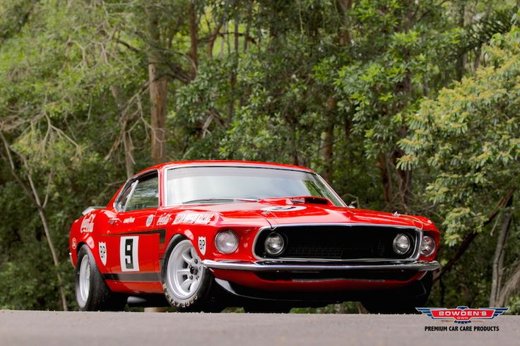 1969 Mustang Trans Am Boss 302 V8 Group II 5.0 litre 350bhp (260kW)@ 6150rpm Allan Moffat & Rsquo's
