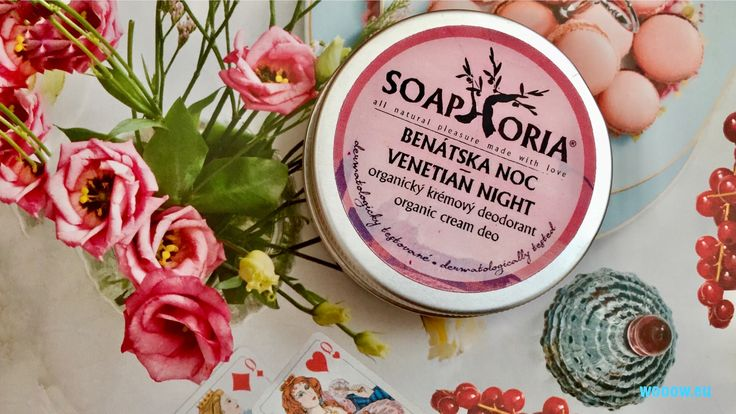 Perfektný prírodný deodorant Soaphoria s miernym antiperspiračným účinkom.