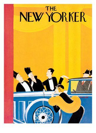 The New Yorker Cover - January 9, 1932 Reproduction procédé giclée Premium par Theodore G. Haupt sur AllPosters.fr 108€