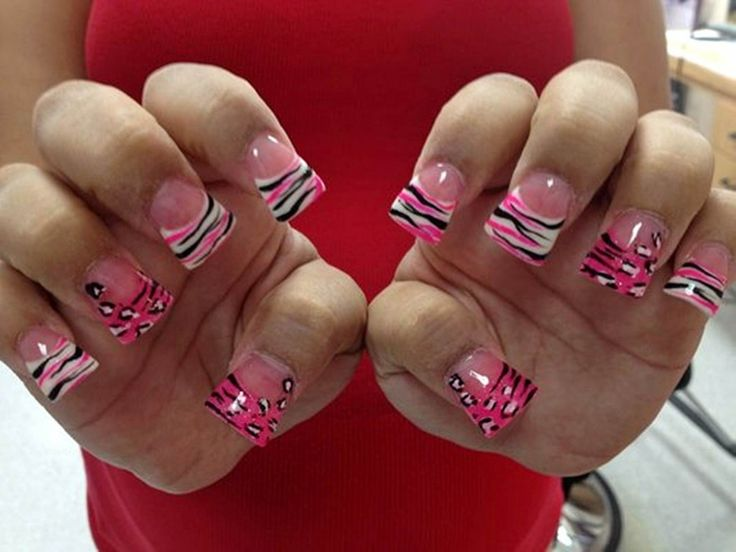 250 best nail art images on pinterest couture decorations and cute acrylic nails for winter prinsesfo Images
