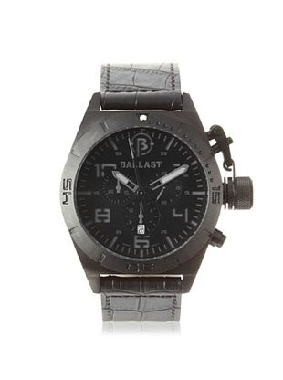 62% OFF Ballast Men's BL-3121-08 Amphion Black/Black Stainless Steel Watch