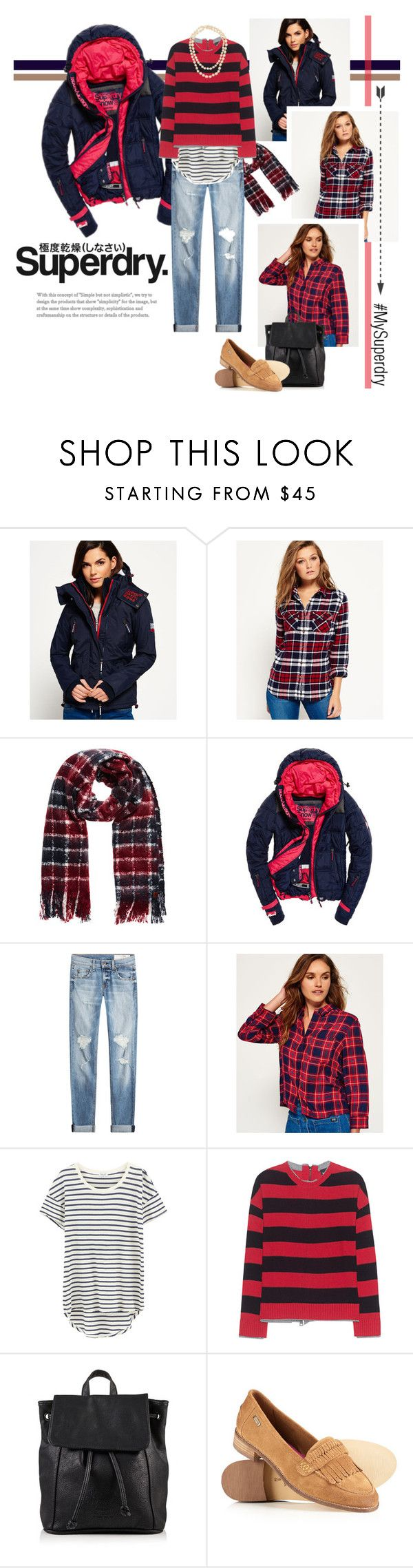 """""""The Cover Up – Jackets by Superdry: Contest Entry"""" by lisalockhart ❤ liked on Polyvore featuring Superdry, rag & bone, Splendid, Just Cavalli, Chanel and MySuperdry"""
