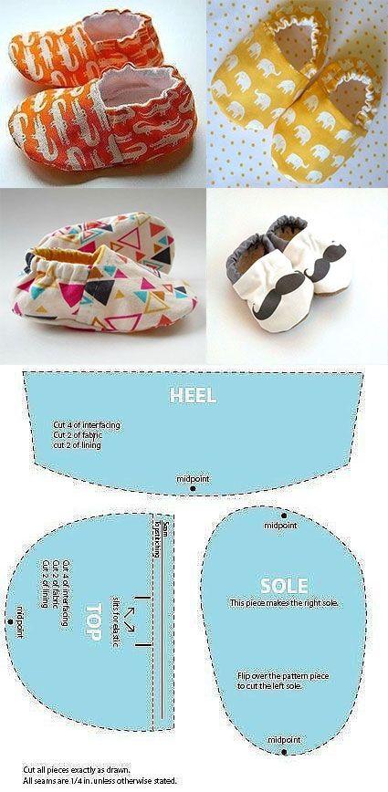 Children's shoe mold  – Babykleidung
