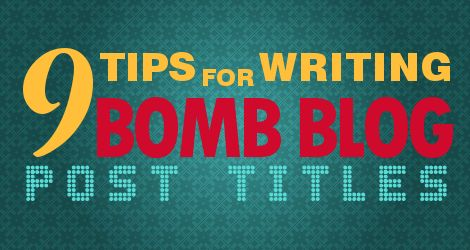 Learn how to write compelling blog post titles and headlines for your articles. Get more people to read what you have to say.