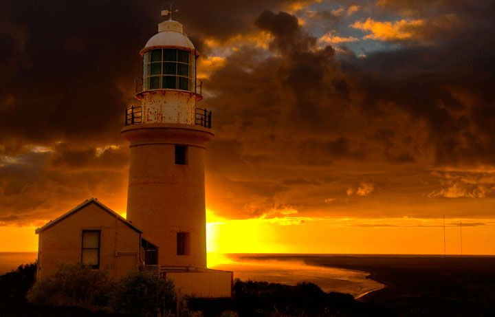 Sunrise at Vlamingh Head Lighthouse, Exmouth, Western Australia